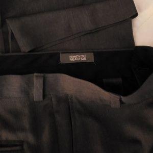 Kenneth Cole Reaction  Gray Dress Slacks